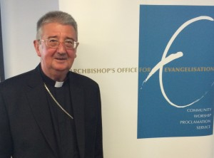 Archbishop of Dublin Diarmuid Martin at the Catholic Leadership Centre, Maelbourne