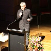 Fr Michael White addresses delegates at Proclaim 2014 Conference