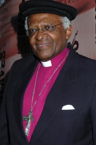 Desmond Tutu at the 2008 Freedom Awards. University of Southern California, Los Angeles