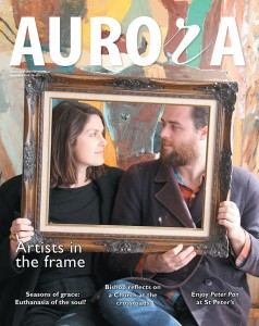 Cover of Aurora quarterly magazine.