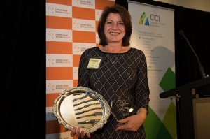 Award winner Margaret Pirotta from CatholicCare Sydney