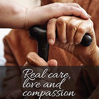 Real Care Love and Compassion pamphlet cover