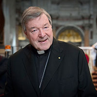 Cardinal Pell. Photo by Fiona Basile