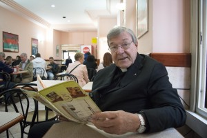 Cardinal Pell. Photo by Fiona Basile.