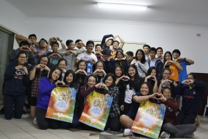 The largest South Australia group booking for the ACYF - youth from the Vietnamese Catholic Community