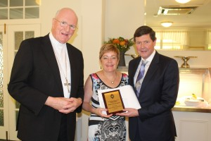 Archbishop Hart with Margaret and Kevin Andrews