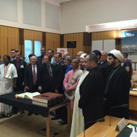Faith leaders gathered at Parliament House, Canberra on 2 December 2015