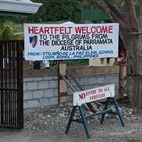 Parramatta pilgrims carry out mission projects across Bohol, Philippines.