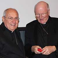 Cardinal Leonardo Sandri addresses the Australian Bishops
