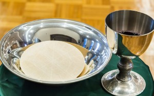 Eucharistic bread and wine
